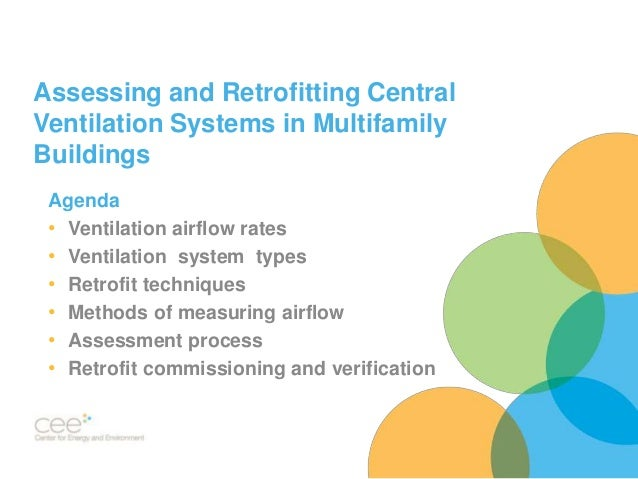 Central Ventilation System : Multifamily central ventilation assessment and retrofit
