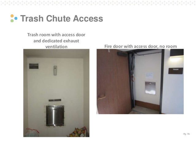 Garbage Chute Room : Multifamily central ventilation assessment and retrofit
