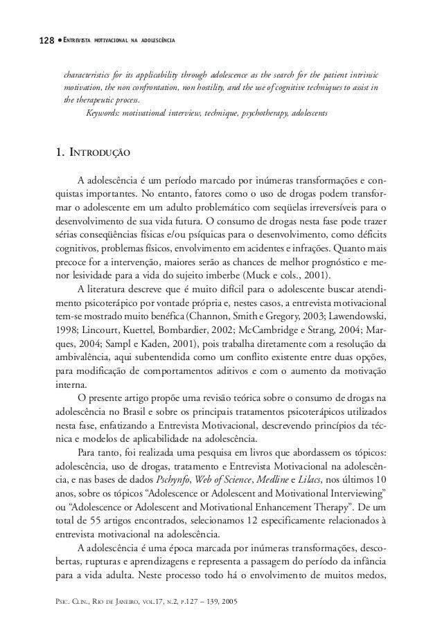 V17n2a10 Andretta Oliveira A Técnica Da Entrevista