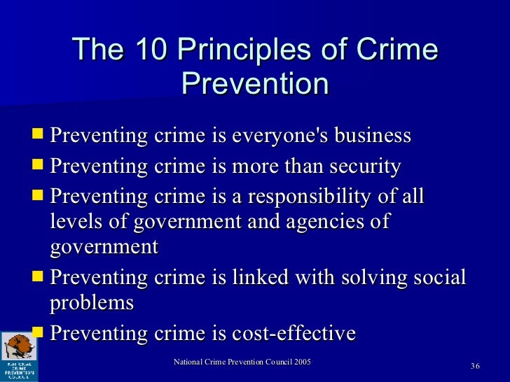 crime prevention coalition of america Causes of crime and violence in latin america  violence and crime prevention initiative,  violence prevention coalition of greater los angeles, united.