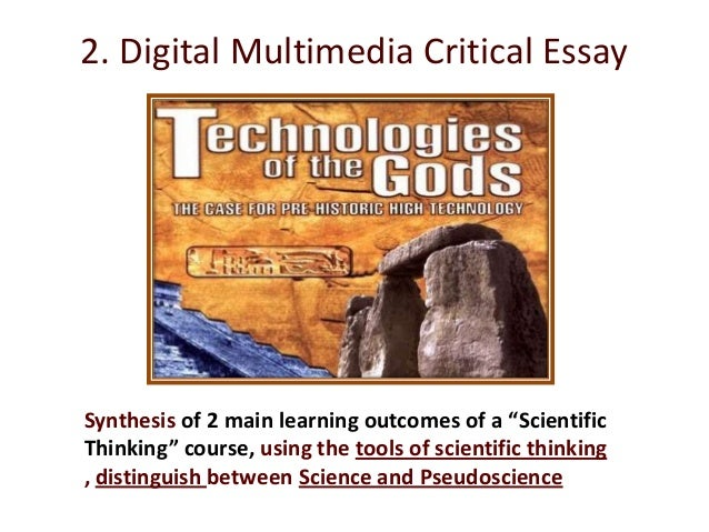 DISSECTING TECHNOLOGIES OF THE GODS:PSEUDOSCIENCE AND ITS IMPLICATIONS FOR SCIENCE EDUCATION