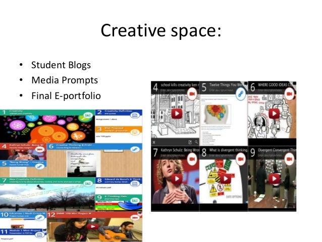 Student multimedia portfolios• Example 1• Example 2