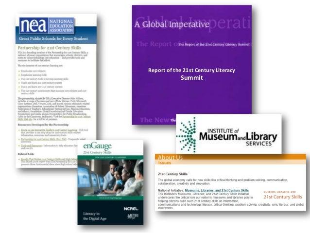 Report of the 21st Century LiteracySummit