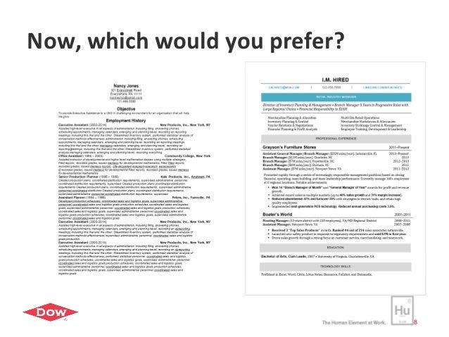 we16 polish your mid career resume