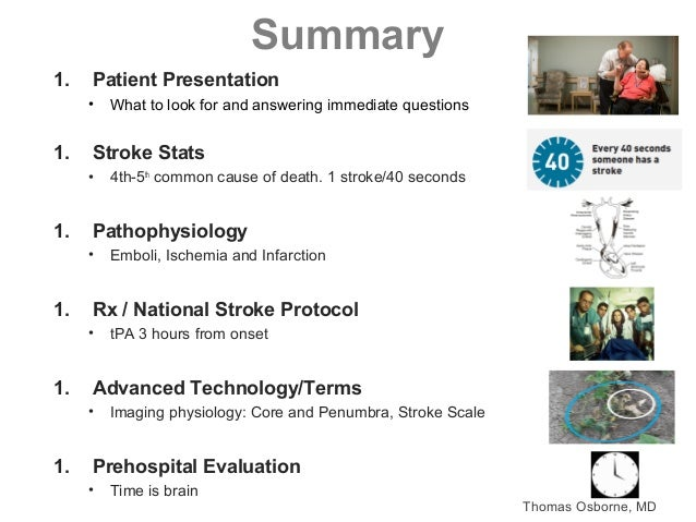 2016: National Acute Stroke Protocol Standard of Care and Emerging Te…