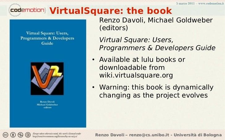 Virtualsquare: tutta la virtualità che avete sempre