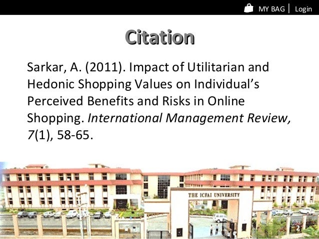 perceived benefits This study investigated the perceived benefits of shopping at a large super  regional shopping centre and three distinct benefit dimensions.