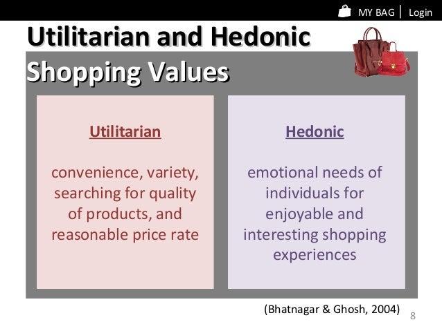Utilitarian hedonic