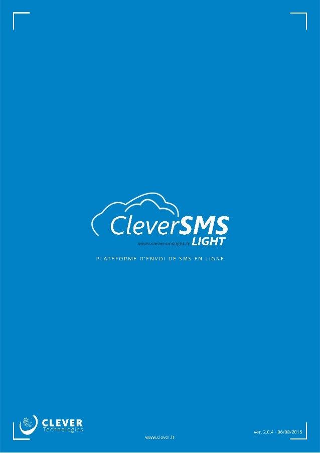 Plateforme SMS par internet | CleverSMS Light