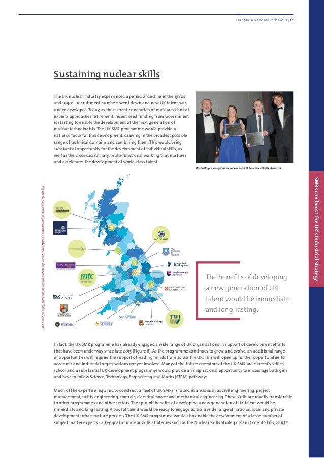 Sustaining nuclear skills The UK nuclear industry experienced a period of decline in the 1980s and 1990s - recruitment num...