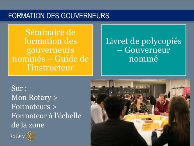 Séminaire de formation des gouverneurs nommés – Guide de l'instructeur Livret de polycopiés – Gouverneur nommé FORMATION D...