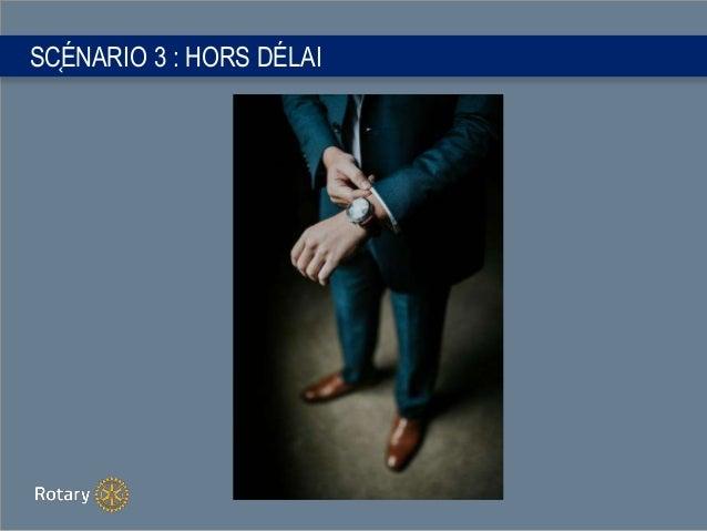 SC֤ÉNARIO 3 : HORS DÉLAI