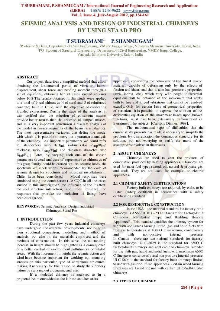 T SUBRAMANI, P.SHANMUGAM / International Journal of Engineering Research and Applications                          (IJERA)...