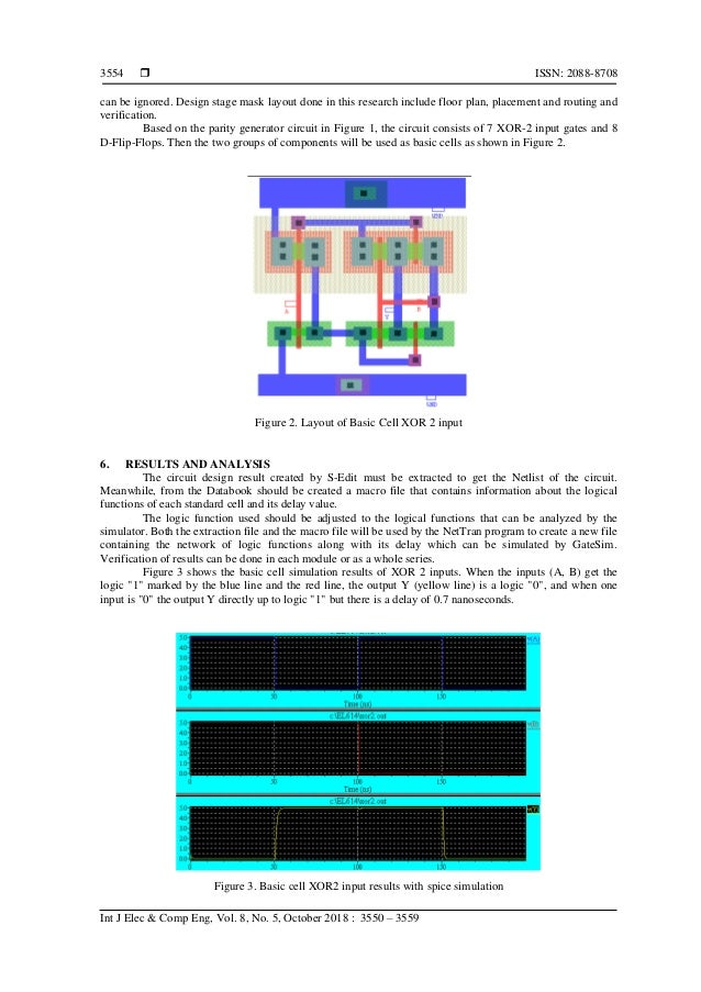  ISSN: 2088-8708 Int J Elec & Comp Eng, Vol. 8, No. 5, October 2018 : 3550 – 3559 3554 can be ignored. Design stage mask ...