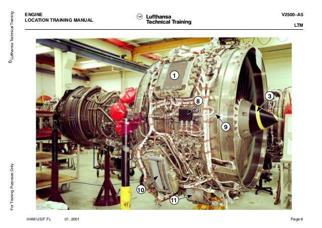 V2500 engine training Manual