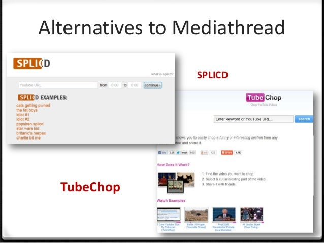 Overview Sharing platform Teachers and Students Supports and encourages multimodal content Draws content from the web ...
