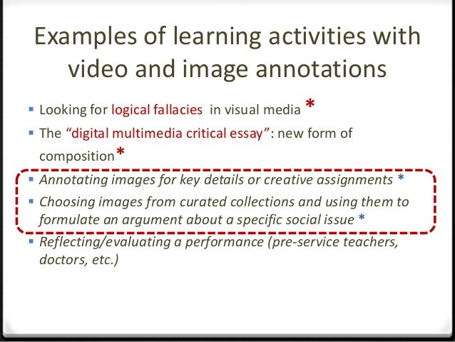Learning and Teaching with ImageAnnotationExample - Art History by Beth Harris