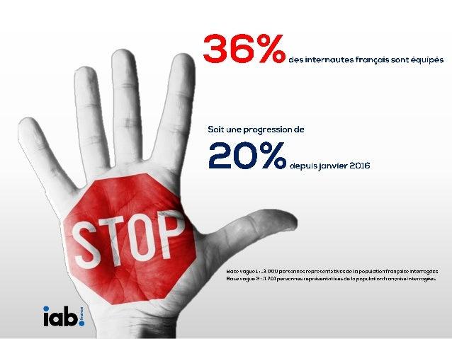 Baromètre sur les adblocks sur le marché français - Vague 2 novembre 2016 Slide 3