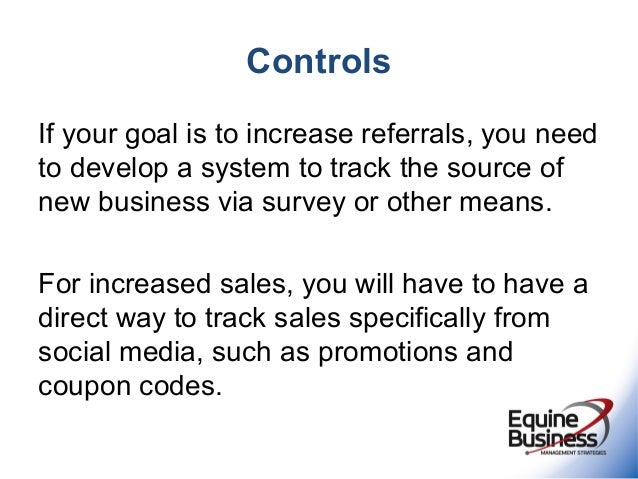 Social marketing strategy for equine veterinarians ebms 2013 29 controls if your goal fandeluxe Images