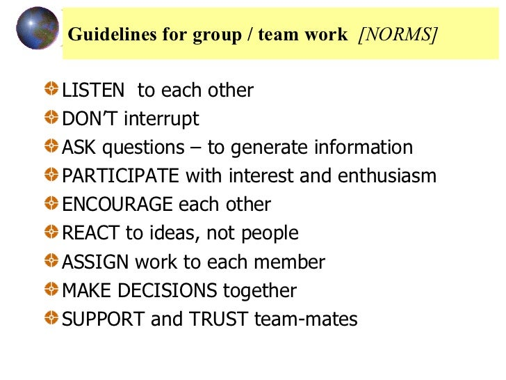 norms work Definition of norm: informal guideline about what is considered normal (what is correct or incorrect) social behavior in a particular group or social unit.