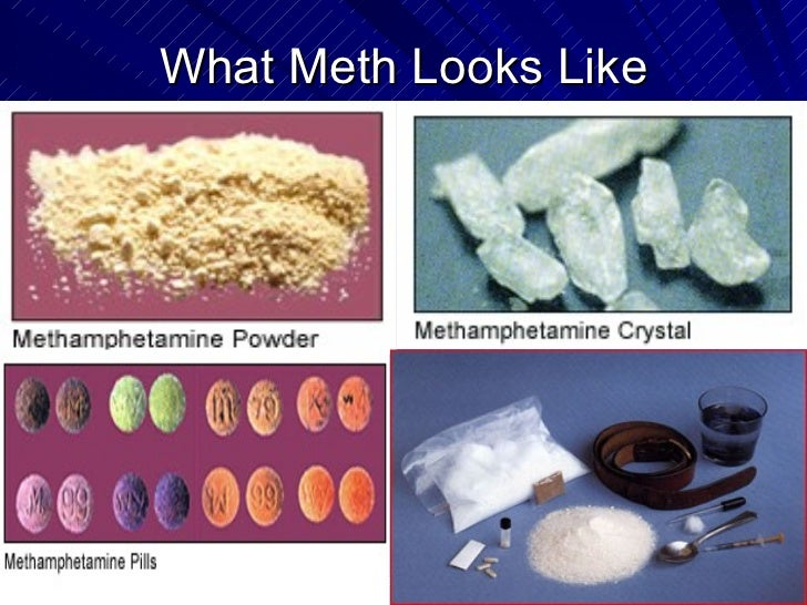 Methamphetamine Abuse And Clandestine Laboratories