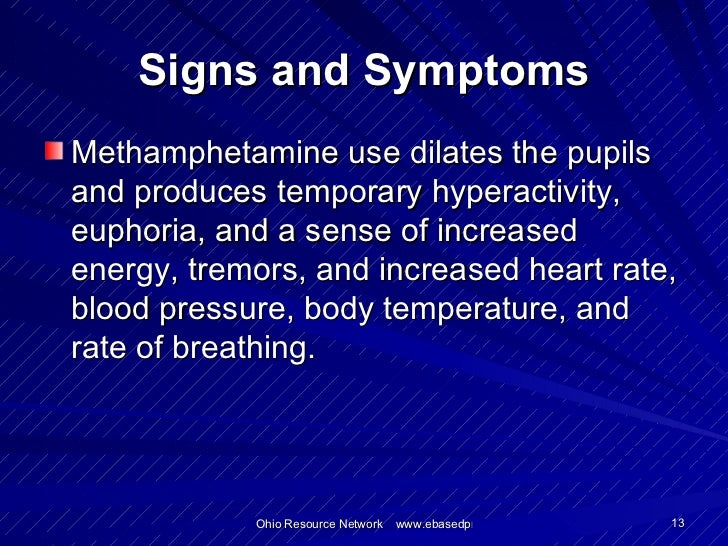 Methamphetamine Abuse And Clandestine Laboratories