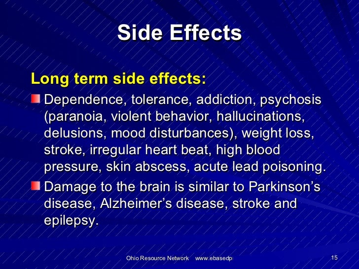 Combivent Long Term Side Effects