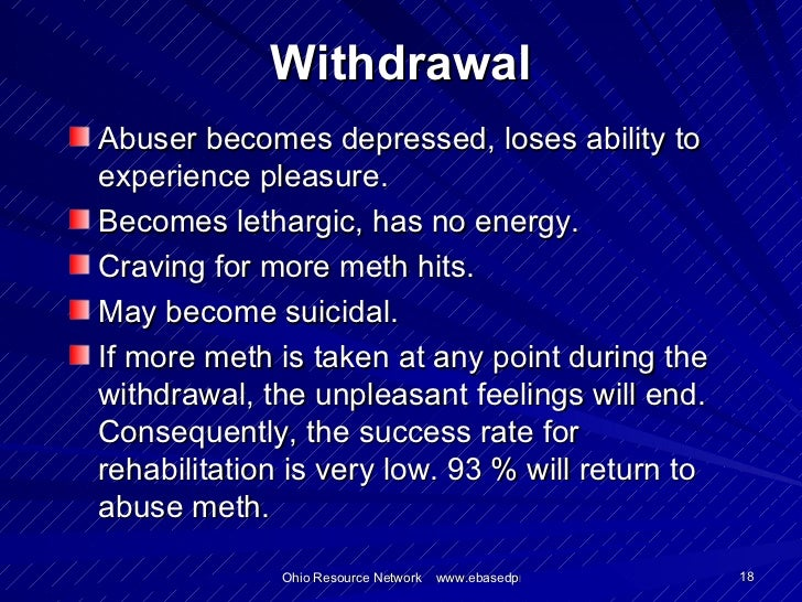 Meth v detox