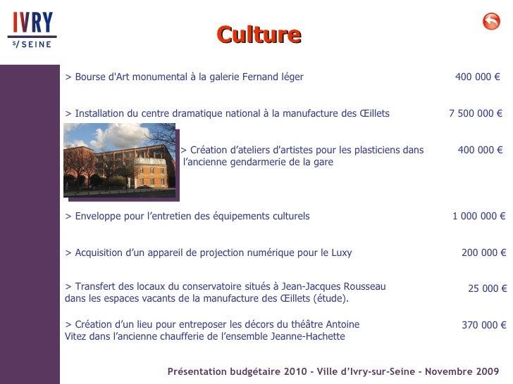 Ivry rencontres budg taires de quartier 2009 - Point p ivry ...