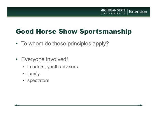 the principles of the sportsmanship and the fairness of the game rules Sportsmanship essay sample sportsmanship does not mean only taking part in sports and playing the game in conformity with the rules prescribed, but also playing the game of life in the spirit imbibed on the playing fields.
