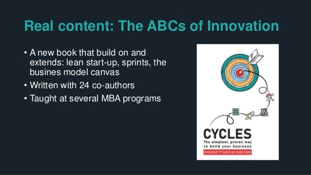 """The core value add of Cycles: Alignment + more on """"how to"""" and a systems view of innovation"""
