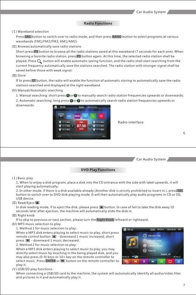 User Manual For Mazda Suzuki Hyundai Toyota Honda