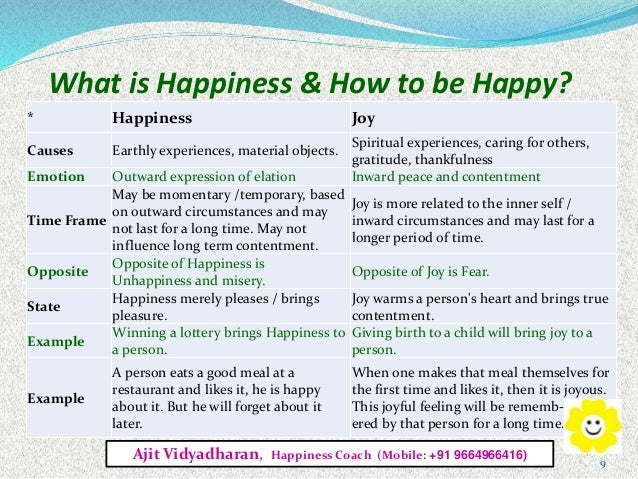 what leads to happiness