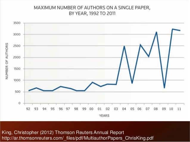 King, Christopher (2012) Thomson Reuters Annual Report  http://ar.thomsonreuters.com/_files/pdf/MultiauthorPapers_ChrisKin...