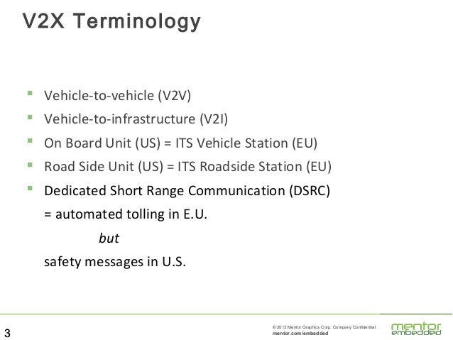 Technology, Business and Regulation of the Connected Car Slide 3