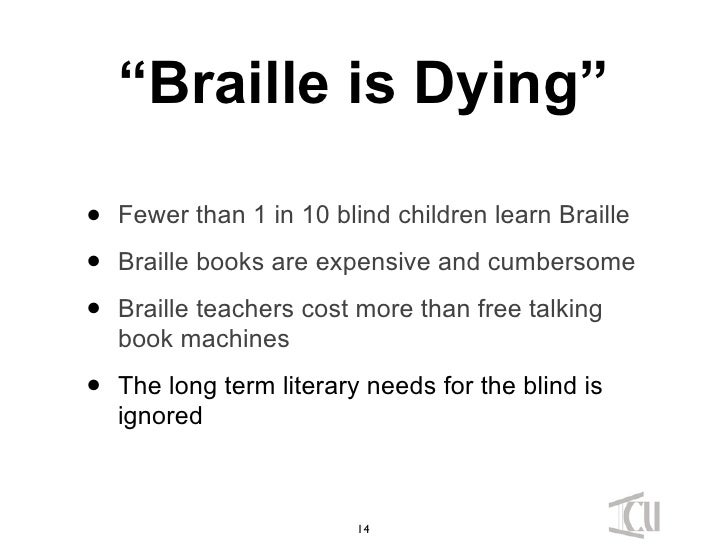 I'm a sighted person trying to learn braille - looking for ...