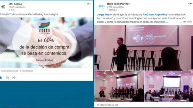 PRESENCIA PERSONAL EN LINKEDIN 60 PUNTOS www.linkedin.com/sales/ssi www.linkedin.com/mynetwork/ 1000 CONTACTO S