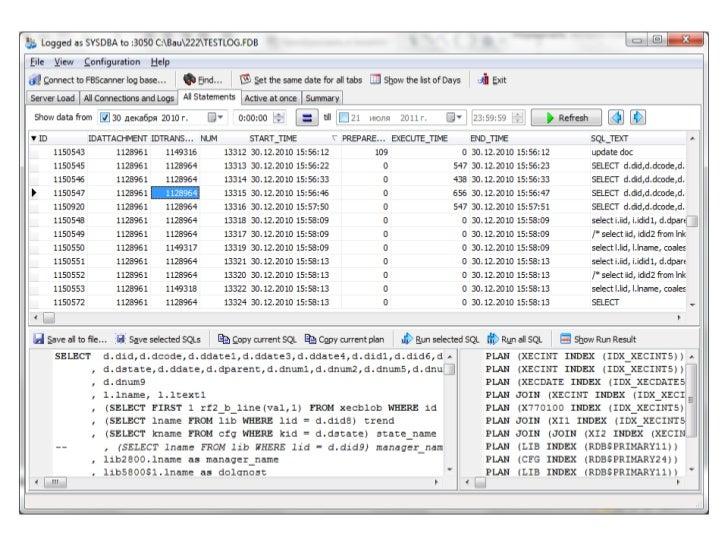 SQL log