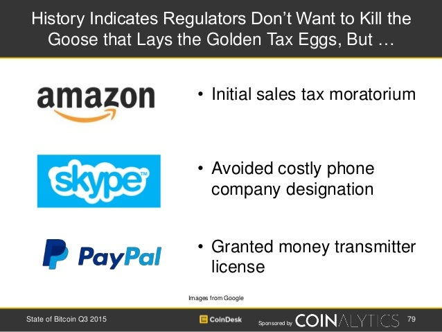 Sponsored by History Indicates Regulators Don't Want to Kill the Goose that Lays the Golden Tax Eggs, But … Images from Go...