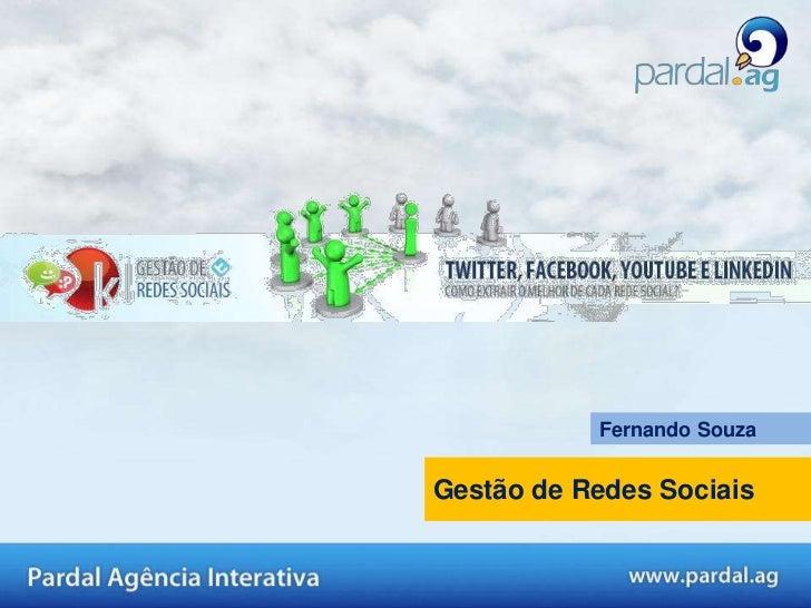 Fernando SouzaGestão de Redes Sociais