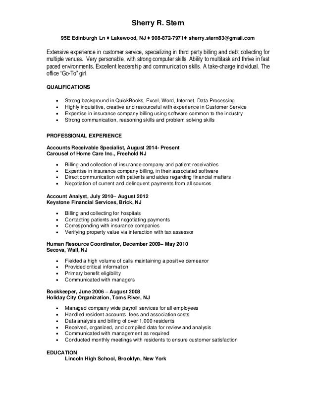 Famous Resume Companies In Nj Images - Example Resume Templates ...