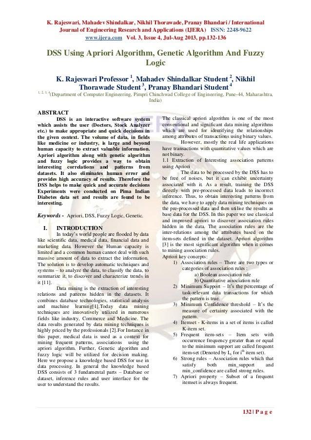 K. Rajeswari, Mahadev Shindalkar, Nikhil Thorawade, Pranay Bhandari / International Journal of Engineering Research and Ap...