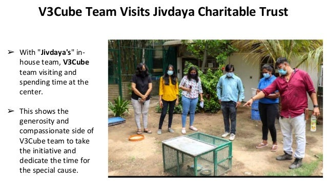 V3Cube Donates Two Medical Equipments for Animals and Birds Slide 2