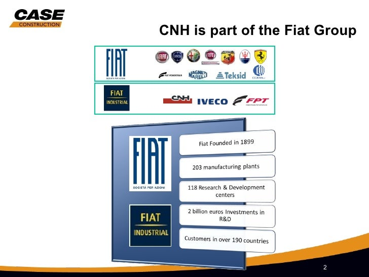 Fiat Group And Case Ce Heritage