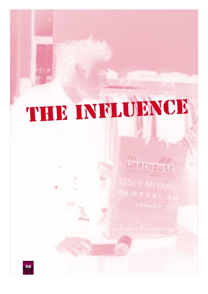 The influence56