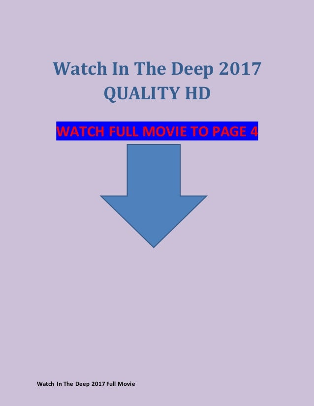 watch in the deep 2017 a full movie of moana