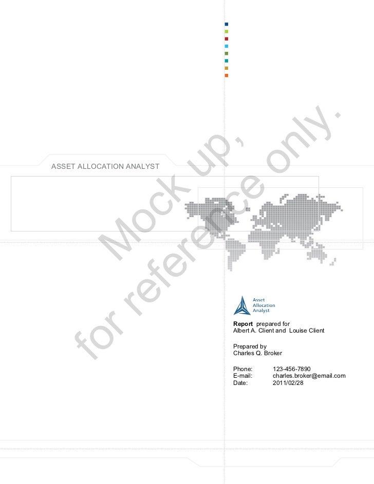 V3 Report Example Mar 2011