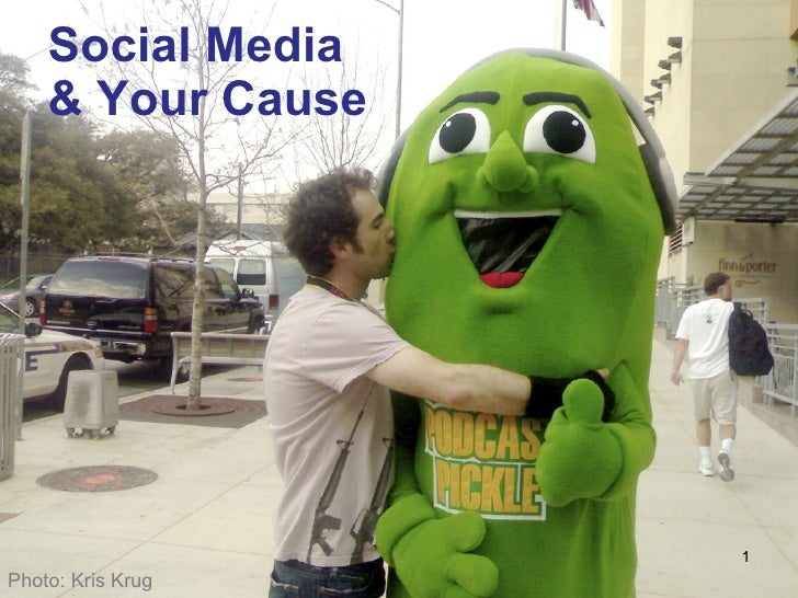 Social Media  & Your Cause Photo: Kris Krug