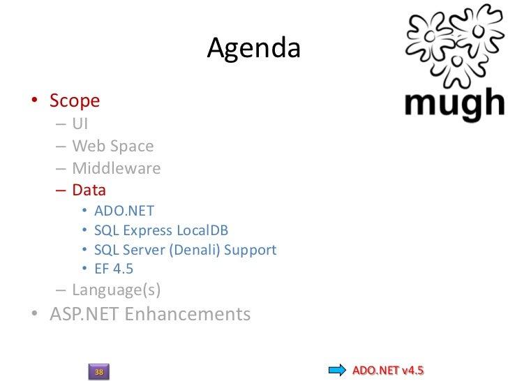 ADO.NET v4.539                  ADO.NET v4.5