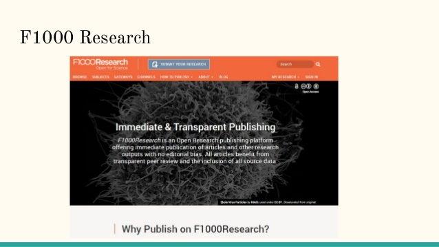 F1000 Research